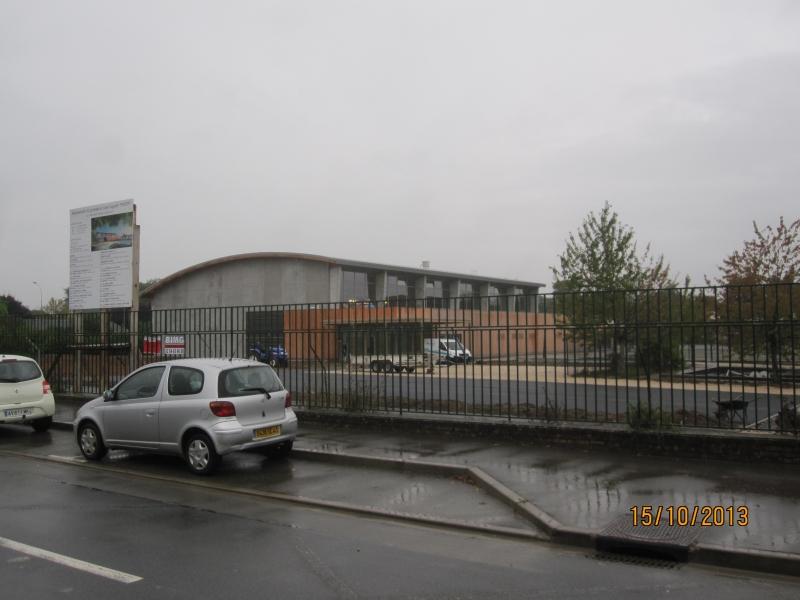 Construction d un gymnase au lyc e augustin thierry for Cout d un desamiantage