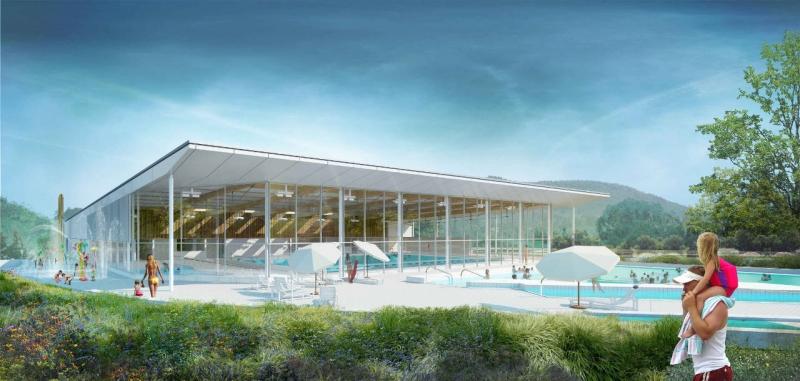 Construction d un centre aquatique intercommunal for Construction piscine jura