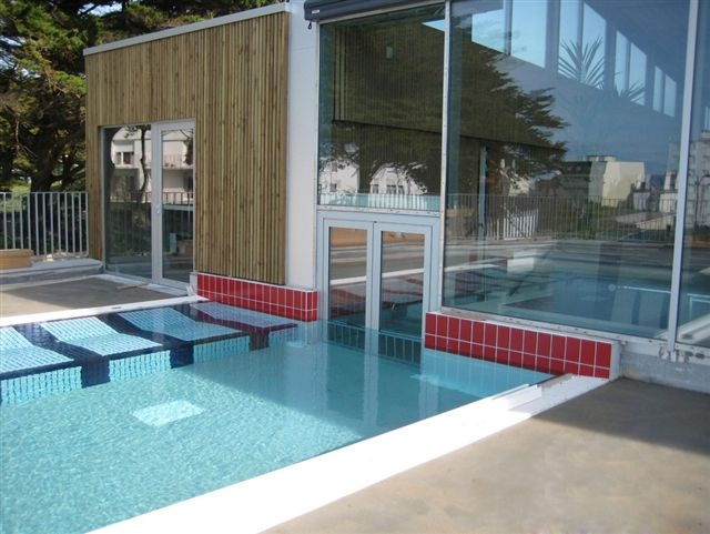 Cr ation d une piscine sport loisir sant quiberon for Piscine quiberon