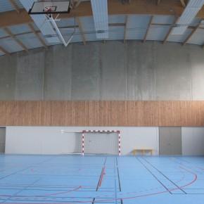 Construction d'un gymnase au lycée Augustin Thierry à Blois