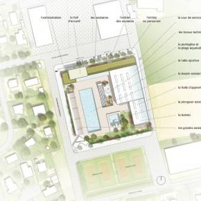 Réhabilitation et extension d'un centre aquatique communautaire à Brignoles
