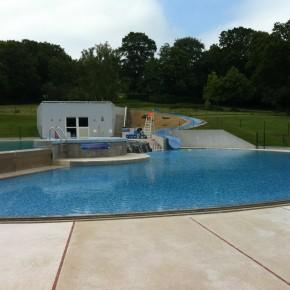 Centre de loisirs à Guenrouet - Réfection des bassins et des plages