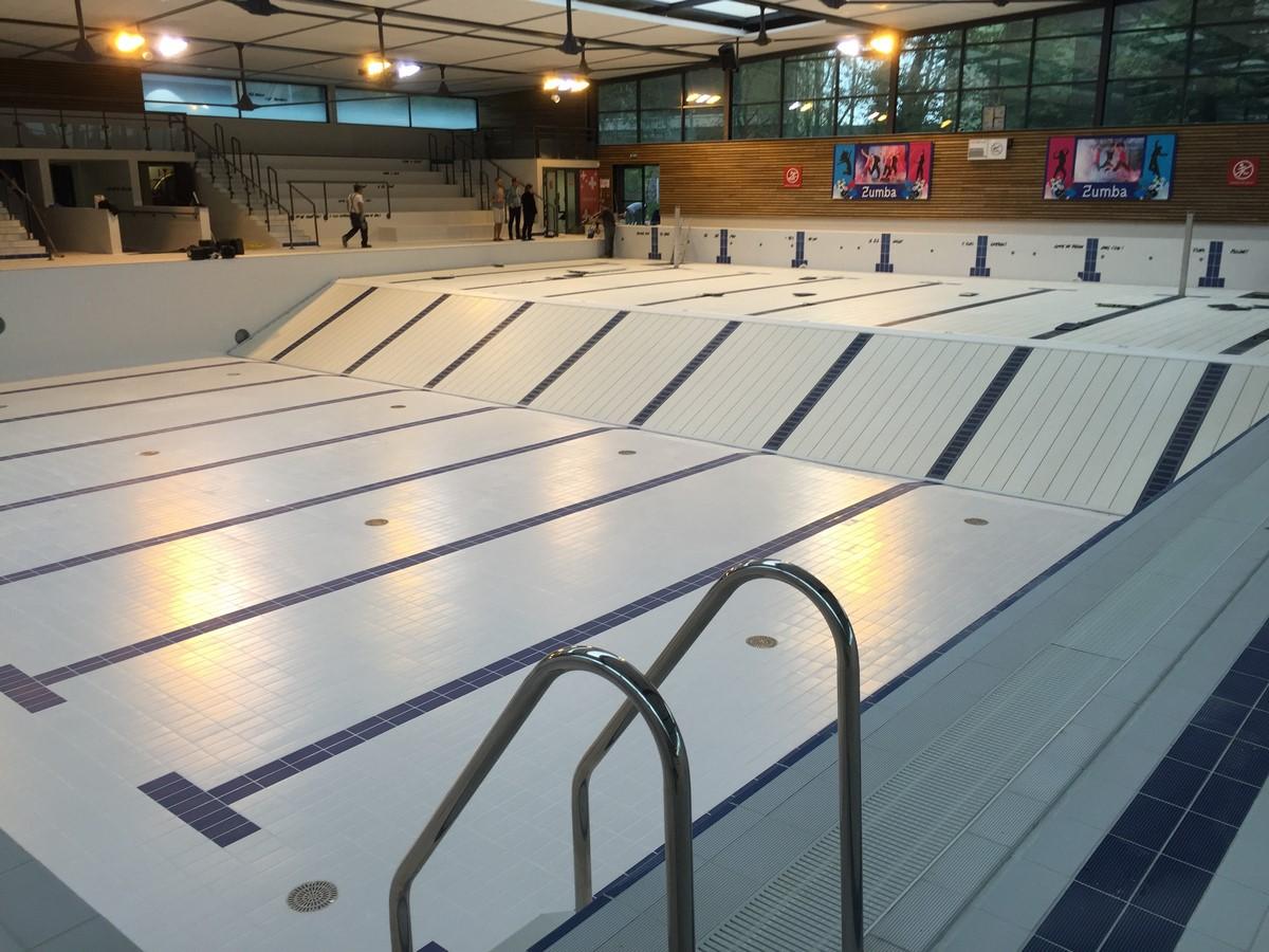 R fection du bassin sportif centre aquatique la vague - La vague piscine palaiseau ...