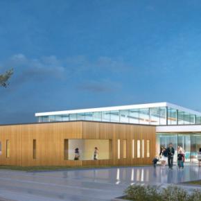 Construction d'un centre aquatique communautaire à La Guerche de Bretagne (35)